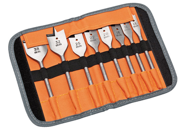 Flat Bit Set - 8 pieces