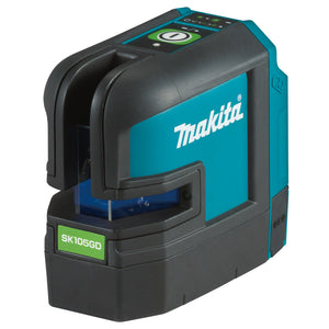 Makita 12V Max GREEN Cross Line Laser (Lines - 1 Vertical, 1 Horizontal) - Tool Only