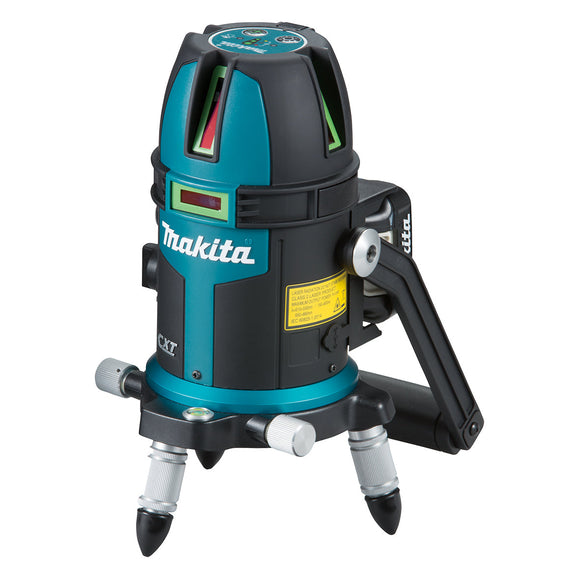 Makita 12V Max GREEN Cross Line Laser (Lines - 3 Vertical, 1 Horizontal) - Tool Only