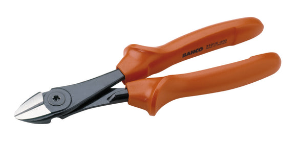 Pliers, ergo, side cutting, insulated to 1000V, 200mm, max cutting cap 2.25mm