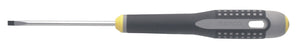 ERGO handled Screwdriver, slotted head, flat tip, 152mm, blade 50mm, tip 2.5mm