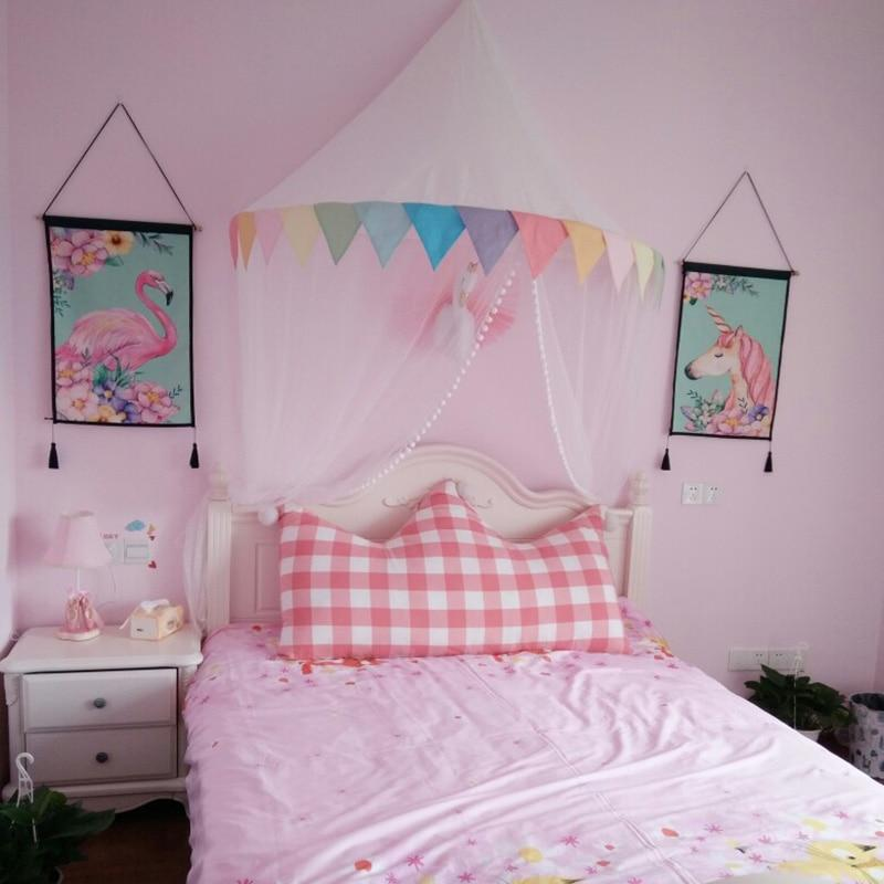 Room Decor   Bed Canopy With Curtain ...