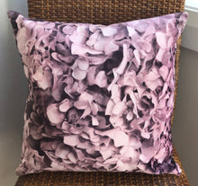 Dusty Pink Hydrangea Cushion