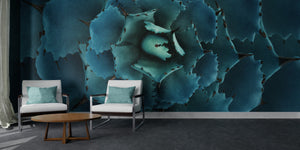 Turquoise Dragon Toes Mural Wallpaper