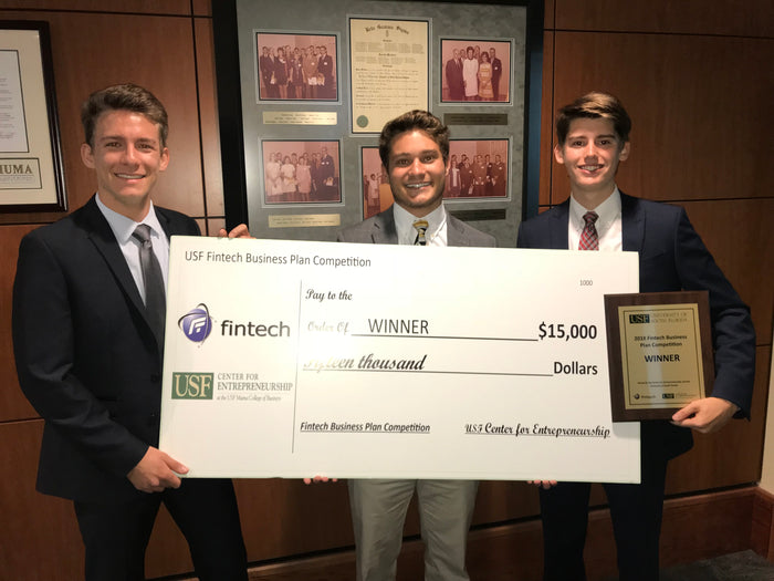 Band.it Wins First Place in Fintech Business Plan Competition