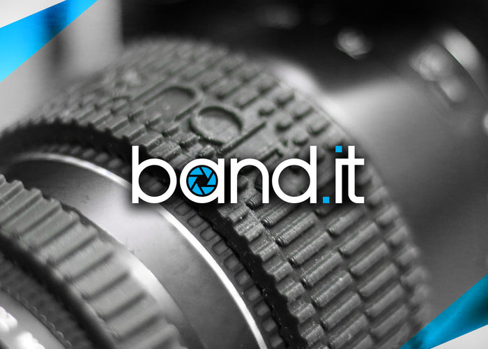 Band.It Camera Lens Grip Adds Extra Control And Precision