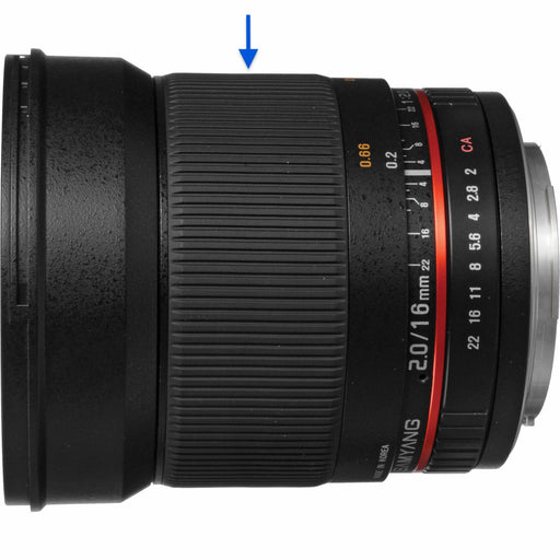 Samyang 16mm f/2.0ED AS USM CS