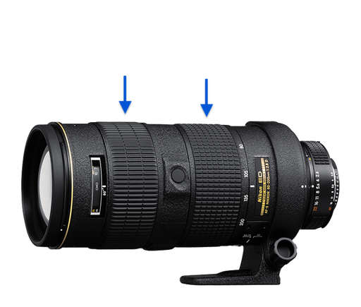 Nikon AF-S Zoom-NIKKOR 80-200mm f/2.8D IF-ED
