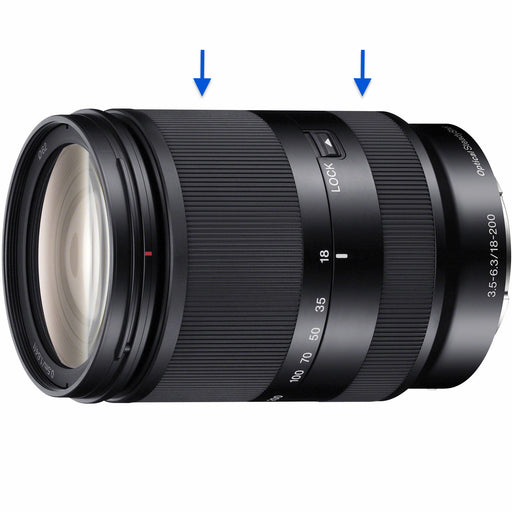 Sony E 18-200mm f/3.5-6.3 OSS