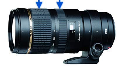 Tamron SP 70-200mm f/2.8 Di VC USD