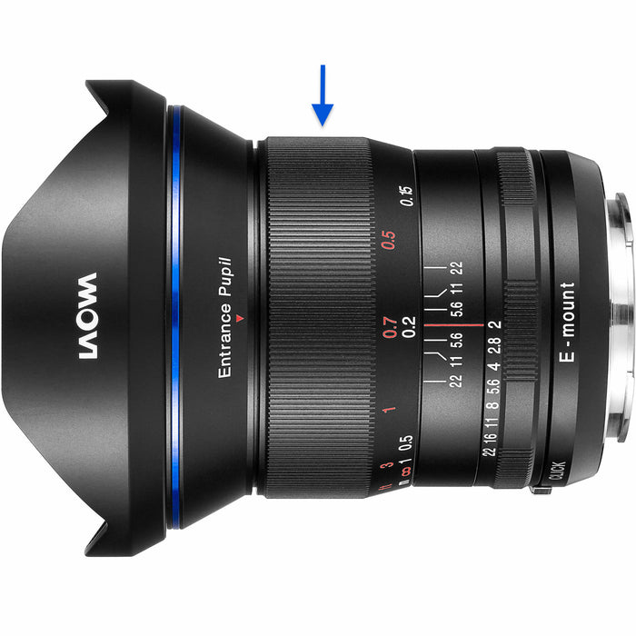 Laowa Venus Optics 15mm f/2 FE Zero-D