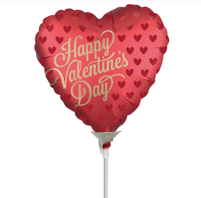 22cm Happy Valentine's Day Balloon