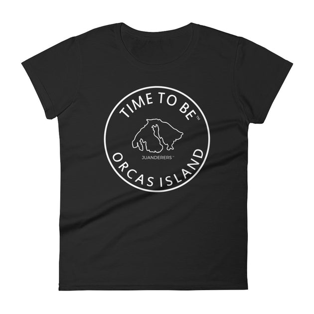 JUANDERERS ™ Orcas Island Map T-Shirt