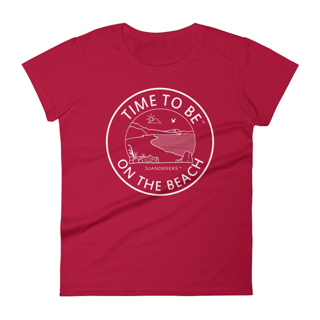 Time to be ™ | Women's short sleeve t-shirt | Beach