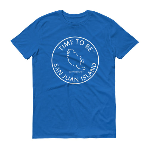 JUANDERERS ™ San Juan Islands Map T-Shirt