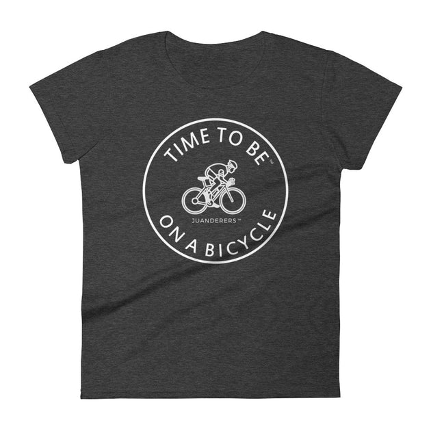 JUANDERERS ™ San Juan Islands Bicycling T-Shirt