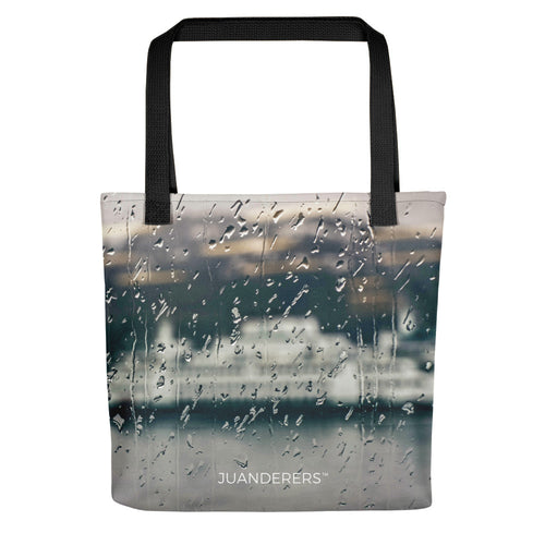 Merchandise | Full Print Tote bag | Rainy Ferry Ride