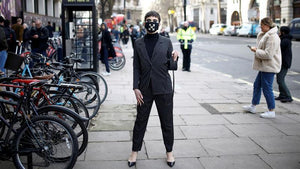 Face masks 'hot item' at London Fashion Week amid virus fears