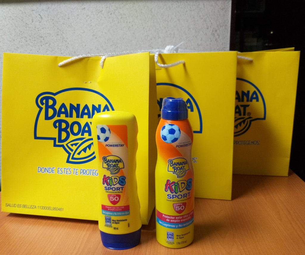 Trivia: Gana un kit de Banana Boat Kids Sports