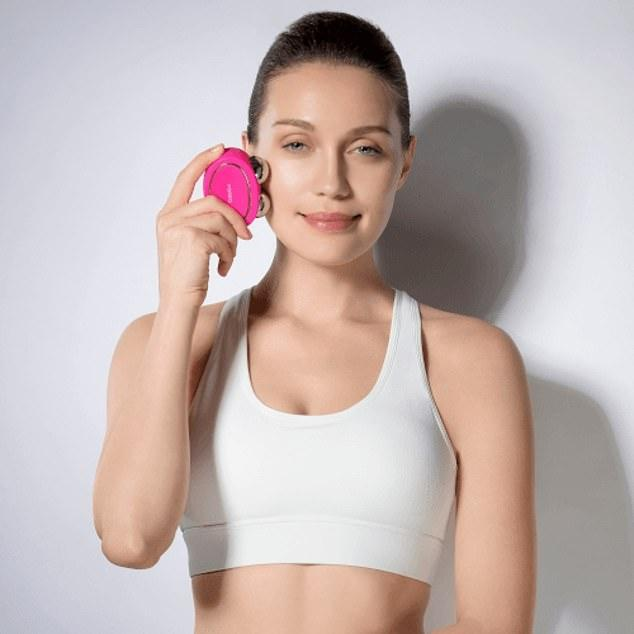 CrossFit for your face: New beauty gadget acts 'like a workout' for facial muscles