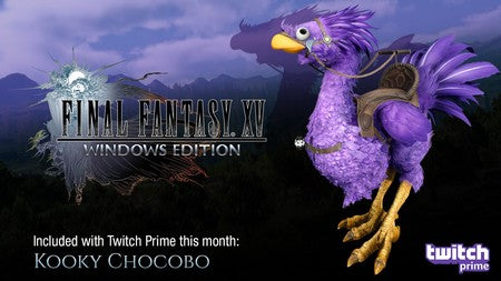KOOKY CON FINAL FANTASY XV WINDOWS EDITION