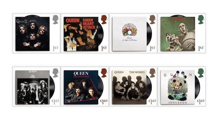 GUARANTEED TO BLOW YOUR MIND…!  ROYAL MAIL ISSUE NEW SPECIAL STAMPS TO HONOUR ROCK ROYALTY, QUEEN