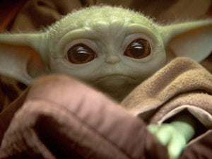People are using makeup to transform themselves into Baby Yoda