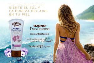 Trivia: Gana un kit de Hawaiian Tropic Ozono Due Defense