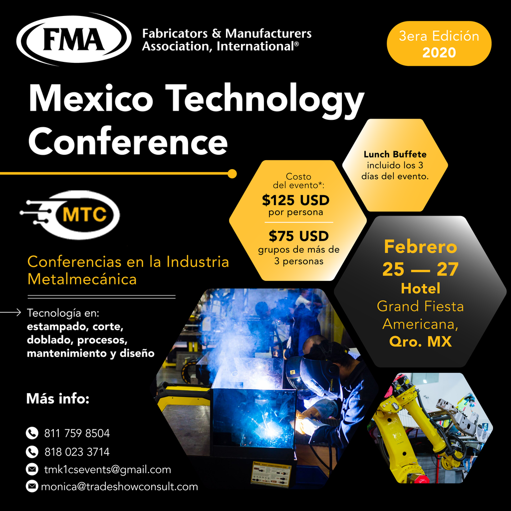 Los Invitamos a asistir a Mexico Technology Conference 2020