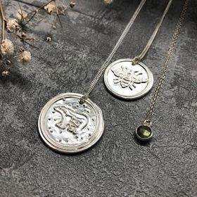 Handmade silver jewellery under £50 by Ravetta Designs #shopsmall