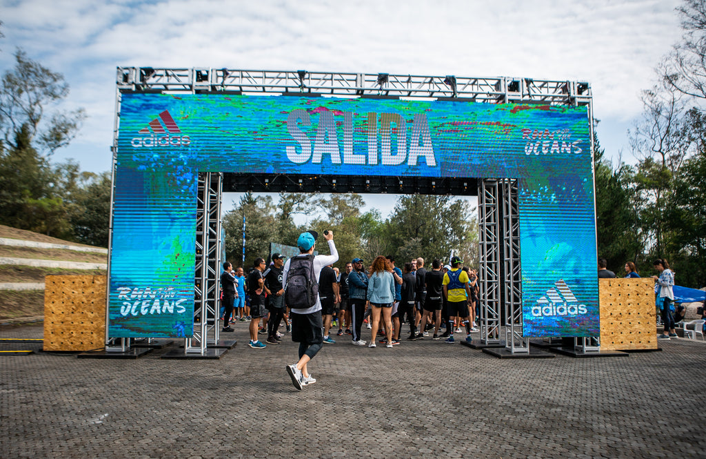 Continua el reto adidas | Parley Run for the Oceans: 1KM= 1USD