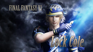 PELEA COMO LOCKE COLE DE FINAL FANTASY VI EN DISSIDIA FINAL FANTASY NT