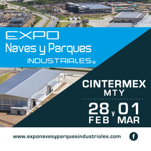 Visitenos en Expo Naves y Parques Industriales 2018