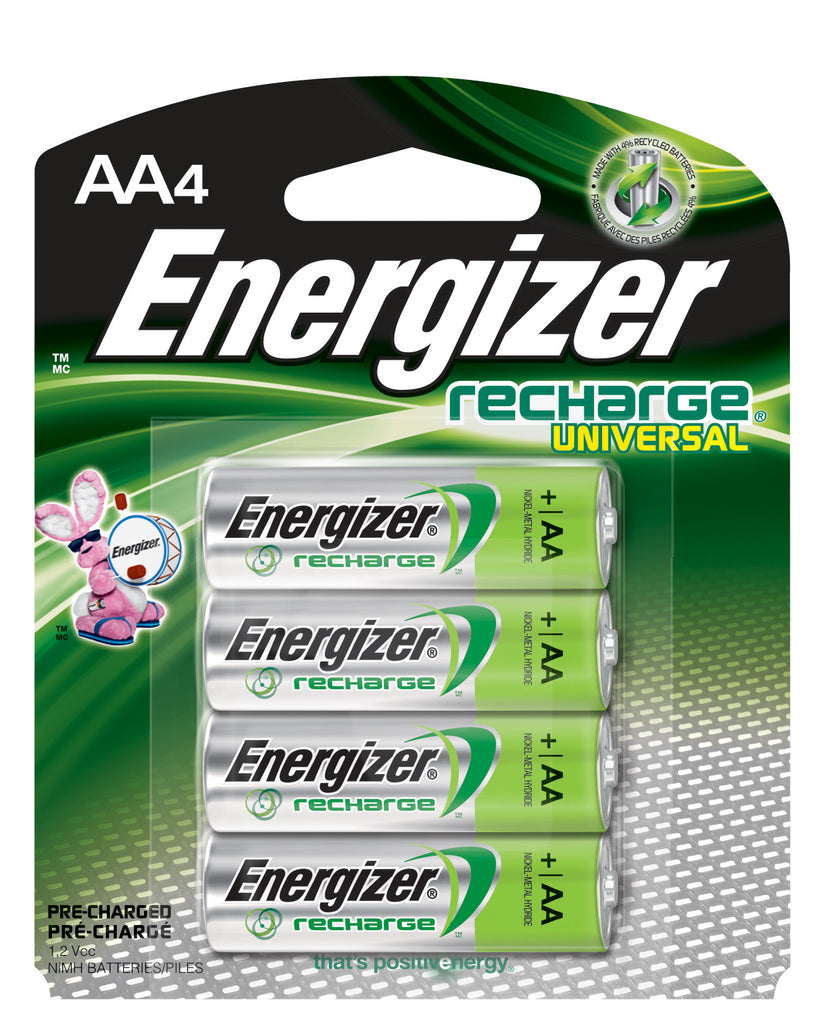 Trivia: Gana con Energizer Recharge Universal