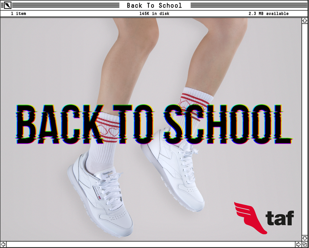 Trivia: BACK TO SCHOOL CON TAF