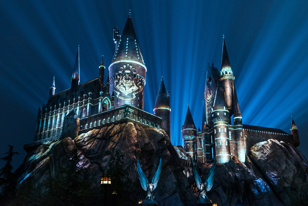 "UNA EXPERIENCIA DE PROYECCIÓN ""THE NIGHTTIME LIGHTS AT HOGWARTS CASTLE"""