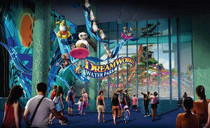 THE WORLD'S FIRST DREAMWORKS ANIMATION WATER PARK WILL OPEN ON MARCH 19