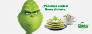 ¿Grinch Green Pancakes?