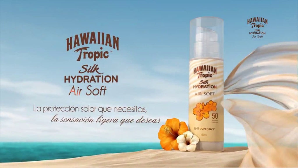 Trivia: Gana con Silk Hydration Air Soft de Hawaiian Tropic
