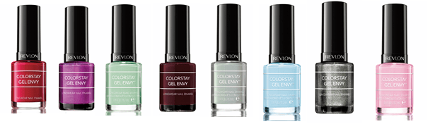 Gel Envy de Revlon Colores Básicos Para Playa