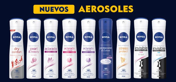 El Antitranspirante NIVEA ideal para ti