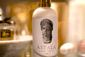 22/09/2021 NEW BEAUTY BRAND ASTALA ~ where nature and luxury align ASTALA  With 7 years in the making, ASTALA knows that true beauty has nothing to do with covering up the natural, rather, it is about enhancing and accentuating mother nature, highlighting your finest features and rejoicing in the endless magic of proper self-care.       Body positivity and uniqueness is where we believe true beauty flourishes. Be the new change of self care and define your OWN standards of beauty.     ASTALA meaning 'of heaven and stars' builds the bridge between the teachings from ancient recipes and the innovative technologies of contemporary cosmetics. Using all-natural and cruelty-free ingredients made locally in Australia, ASTALA invites you to express your uniqueness, to pander in the softness of your skin, bask in the delicate curves of your body and indulge in the beauty rituals from the classic world with our elegant and timeless luxury body oils.       Key notes:  * Premium oil for face and body propertie *Modern and romantic scent *Suitable for all skin types *Cruelty-free **Vegan-friendly  *Ethically produced in Australia