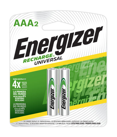 energizer Recharge Universal