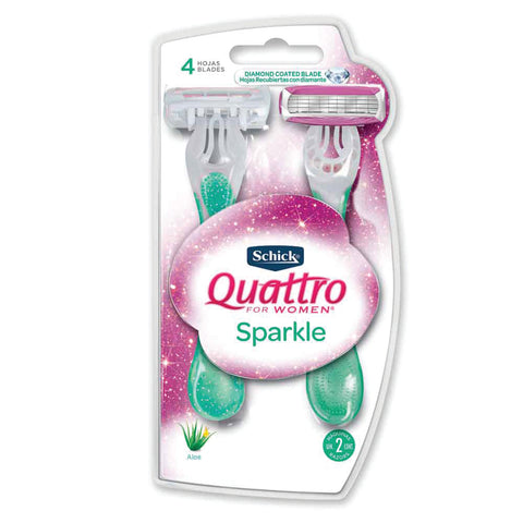 Trivia: Schick Quattro for Women Sparkle