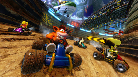 PREPÁRATE PARA ACELERAR CON CRASH TEAM RACING NITRO-FUELED