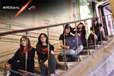ASUS Republic of Gamers crea el primer equipo femenil #ROGirls
