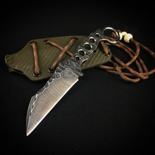 Urban Tactical Utility Knife with Kydex Sheath
