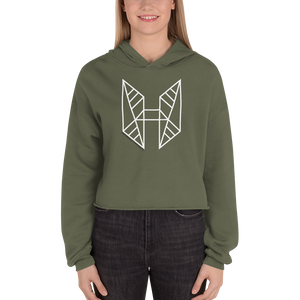 I am the Project Crop Hoodie