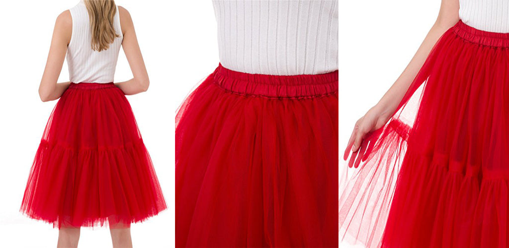 Tulle skirt Womens vintage tutu skirt princess dress