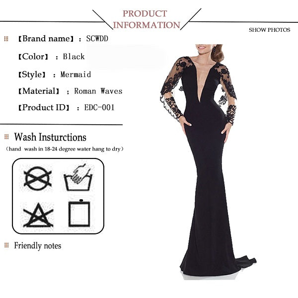 Mermaid evening dresses deep V-neck Jersey formal dresses for sale ... b10c04e13